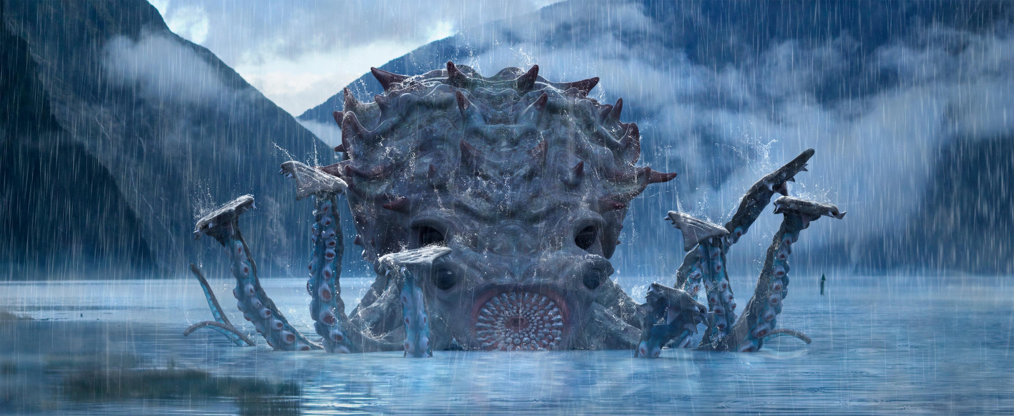 Squid Tropical Storm Concept